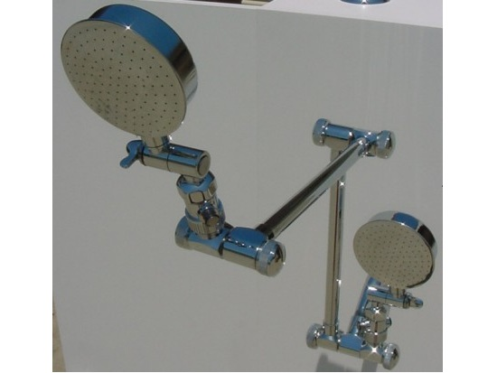 double shower head affordable dual shower heads easy to install neatitems 29653