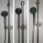Solid Brass Slide Rail Showers