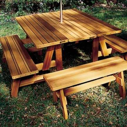 Neatitems Convertible Picnic Table