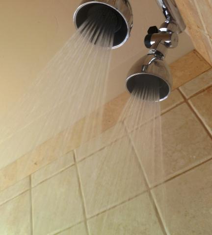 Dual Siroflex Shower Heads