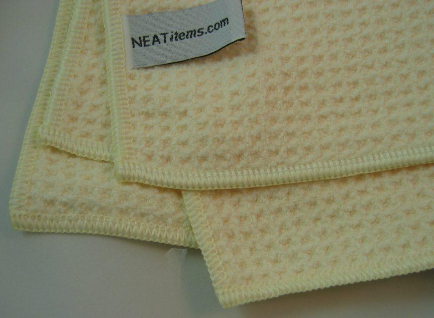 Micro Fiber Waffle Weave Hand Towels   14x24