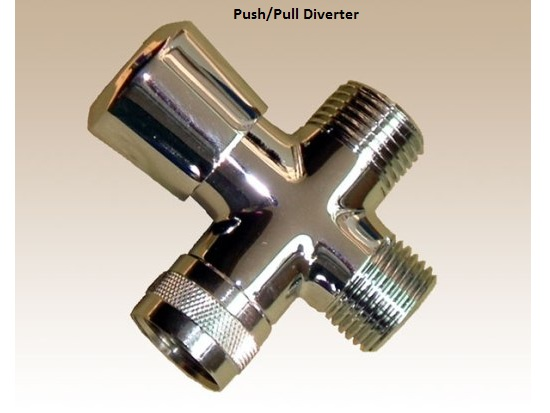 Charmant Shower Diverter Valves