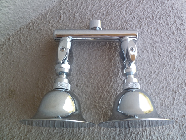 dual bell rain shower heads neatitems