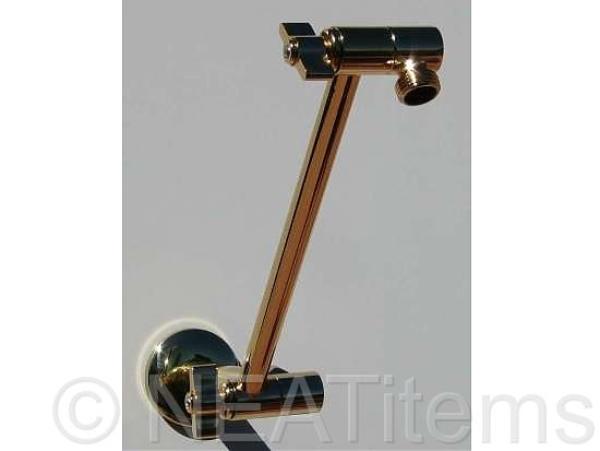 Shower Extension Arms Locking Brass Extension Arms Neatitems