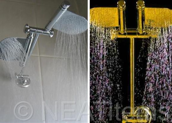 dual rain shower head. Dual Paddle RainShower Shower Head Heads  Showerheads
